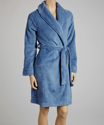 Deep Blue Robe - Women