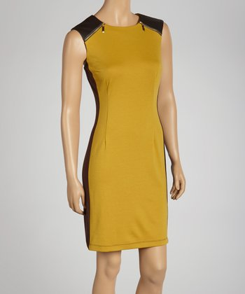 Orchard & Brown Zipper Detail Dress