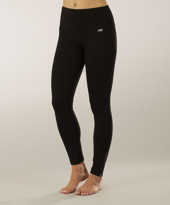 Black Tummy Control Shaper Leggings