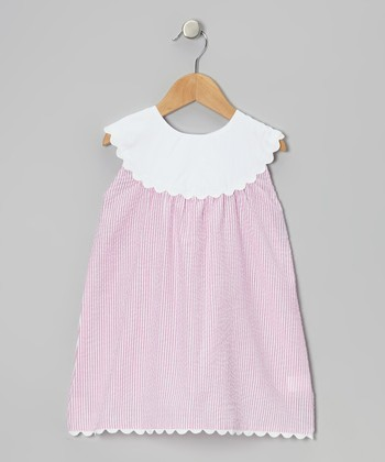Pink Yoke Dress - Infant, Toddler & Girls