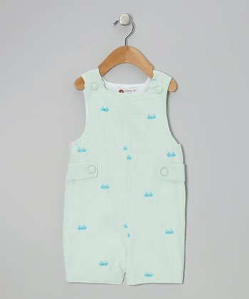 Green Crab Shortalls - Infant & Toddler