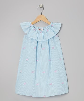Blue Whale Dress - Toddler & Girls