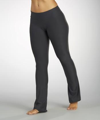 Carbon Flat-Waist Pants - Women