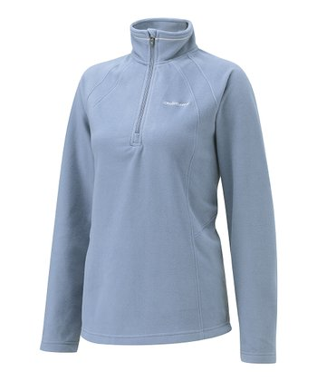 Soft Slate Miska Fleece Pullover