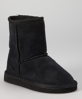 Black Pull-On Boot