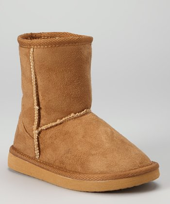 Coffee Pull-On Boot