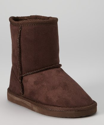 Brown Pull-On Boot