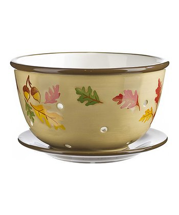 Fall Leaves Berry Bowl Set