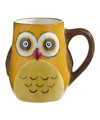 Yellow Owl Mug