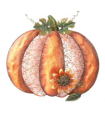 Mesh Pumpkin Wall Art
