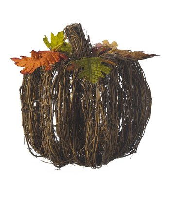Large Rattan Pumpkin