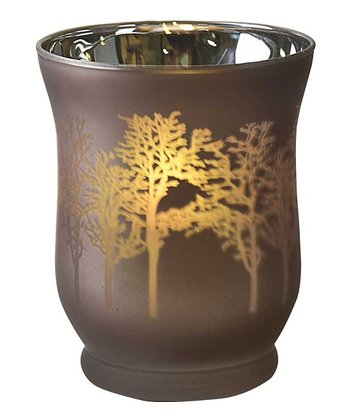 Gold Tree Votive Holder