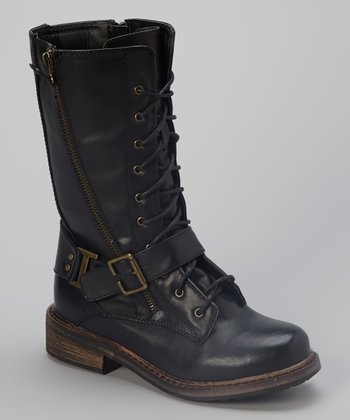 Black R&B Boot