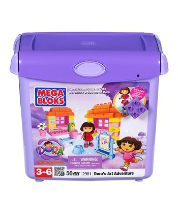 Dora's Art Adventure Block Set