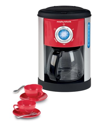 Morphy Richards Toy Coffee Machine Set