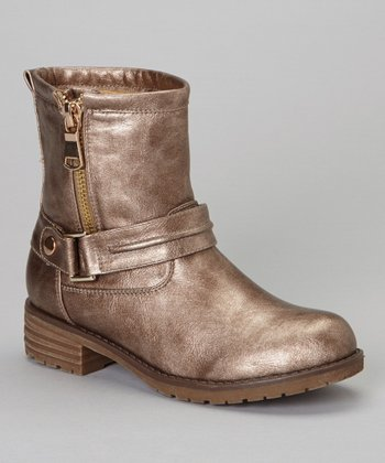 Pewter Zip-Up Jayda Boot