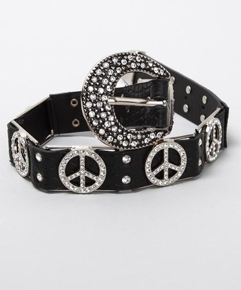 Penelope Wildberry - Black Peace Belt
