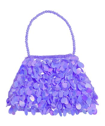 Light Purple Sequin Small Purse