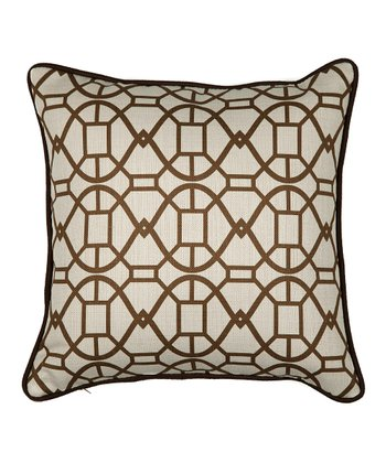 Chocolate Chole Pillow