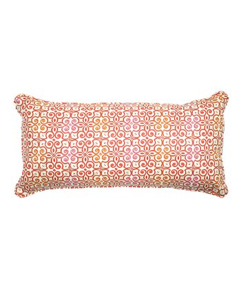 Mango Interlock Throw Pillow