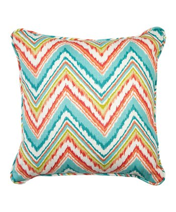 Capri Zigzag Throw Pillow