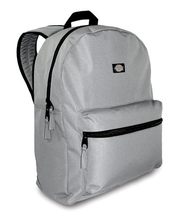 Gray Student Backpack