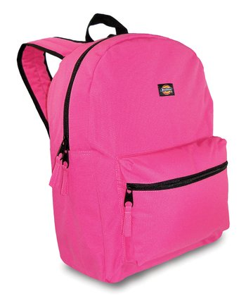 Pink Student Backpack