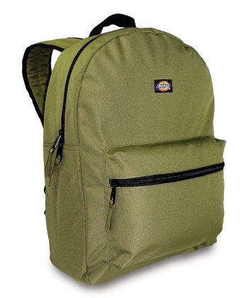 Olive Student Backpack