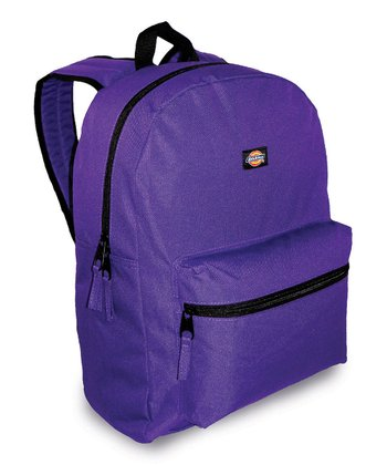 Purple Student Backpack