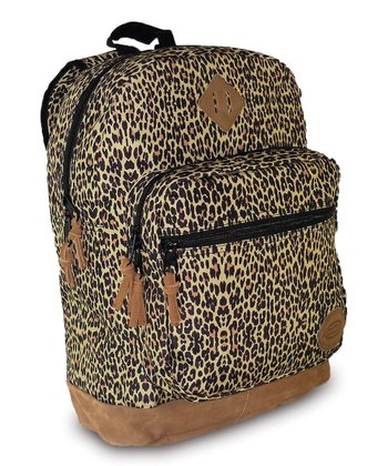 Brown Cheetah Venice Backpack