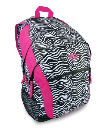 Black & White Zebra Sport Backpack