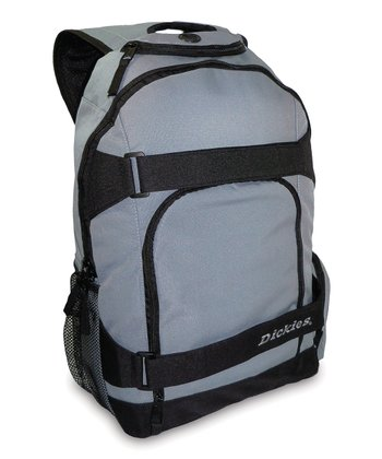 Gray Action Backpack