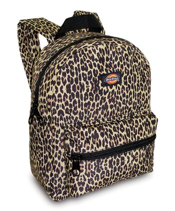 Brown Cheetah Mini Backpack