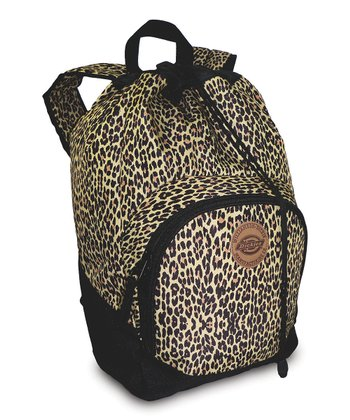 Brown Cheetah Beach Bum Backpack