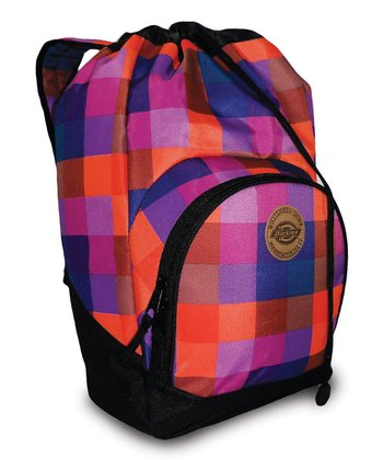 Pink & Purple Beach Bum Backpack