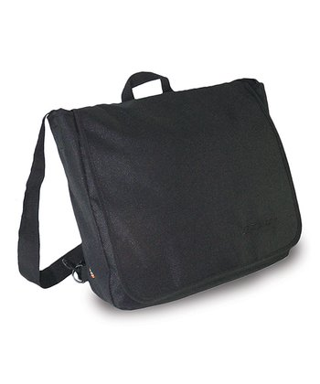 Black Convertible Messenger Bag