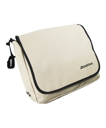 Cream Convertible Messenger Bag