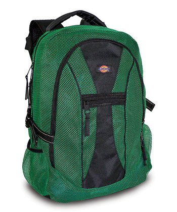 Green Mesh Backpack