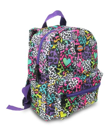 Blue & Purple Hearts Mini Backpack