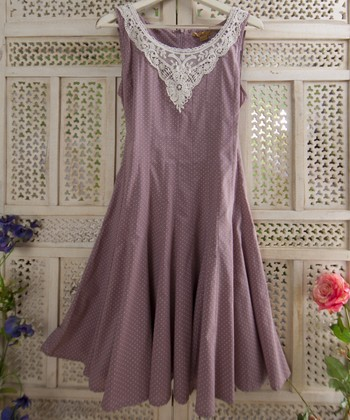 Taupe Bernadette Dress
