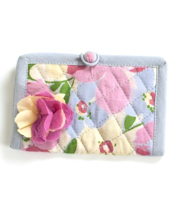 Pink & Yellow Gazebo Business Card Case