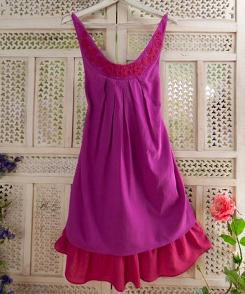 Indian Pink Sam Dress