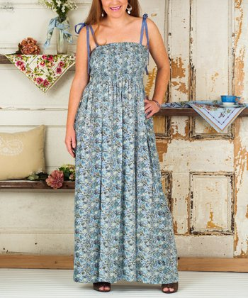 Light Blue July Maxi Dress