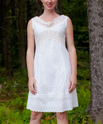 Ecru Brittany Dress