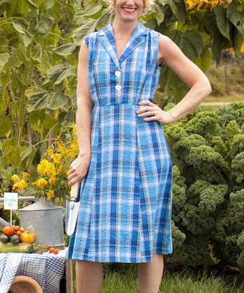 Blue Nantucket Shirt Dress