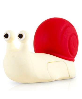 Red & White Snail 8GB USB Drive & Changeable Cover