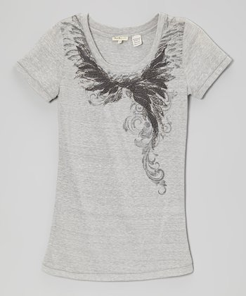 Heather Gray Wind Whisper Tee
