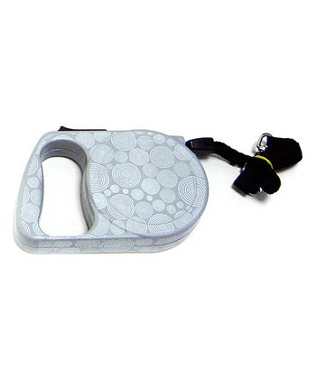 Gray Swirl Retractable Leash