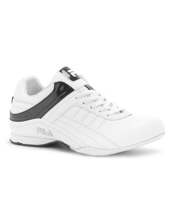 White & Black Elleray 2 Running Shoe - Women