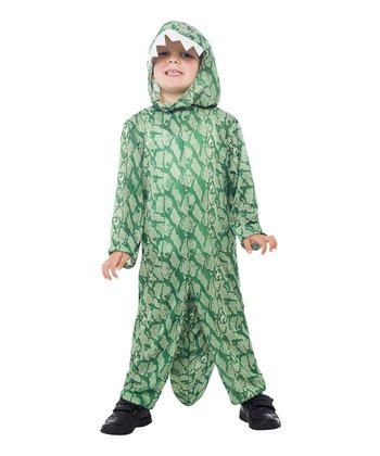 Green Dinosaur Dress-Up Outfit - Kids